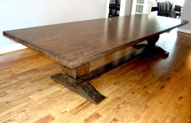 Custom Made Dining Table Solid Makory