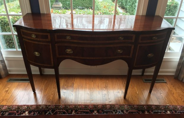 Hand Stripped Refinished Dining Buffet