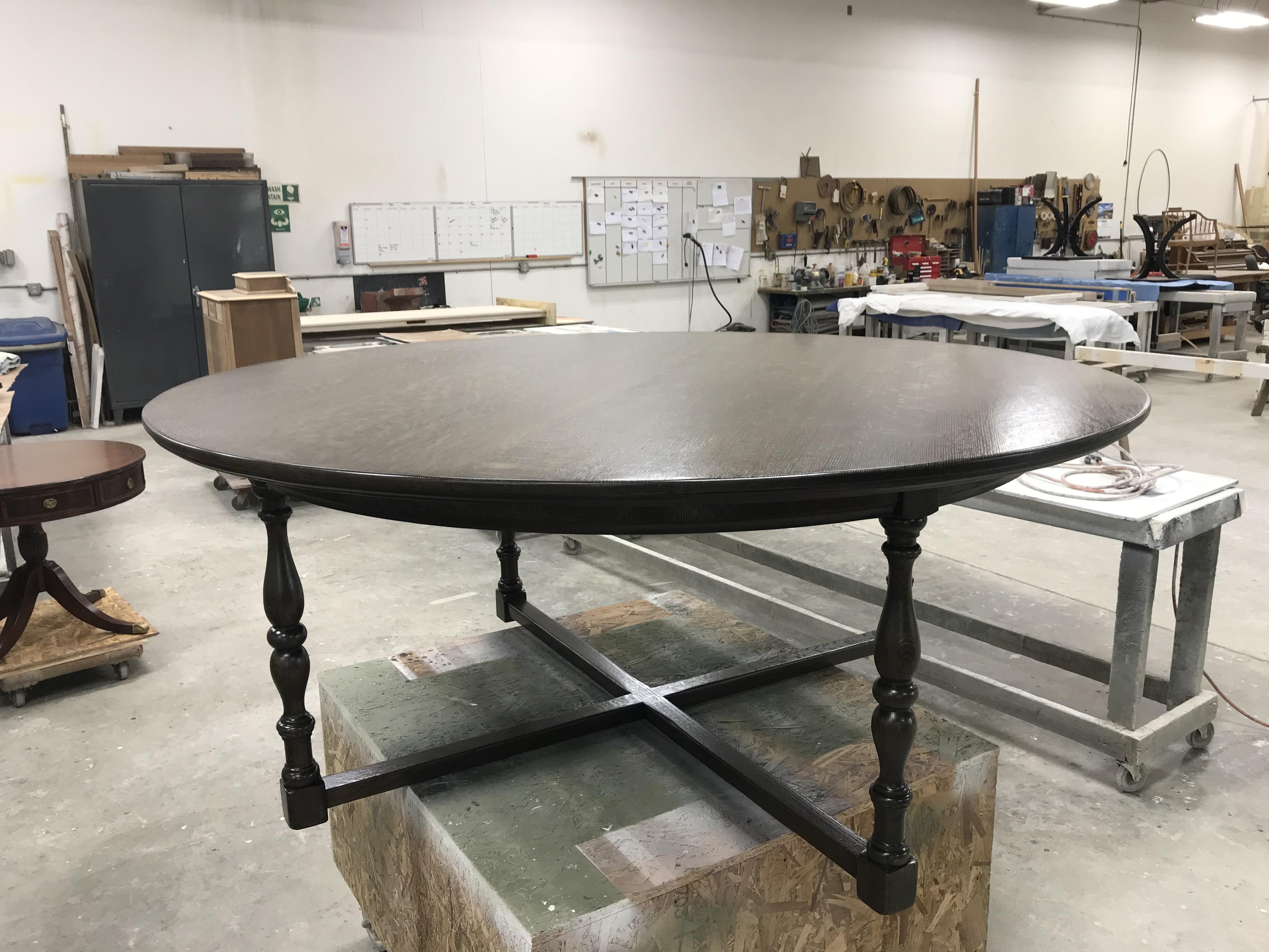 Large Quartered White Oak Table