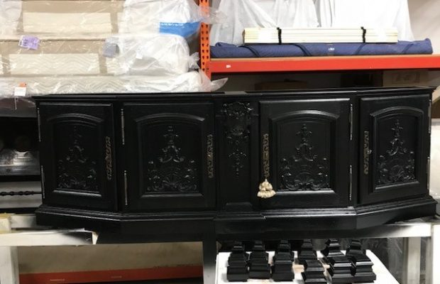 Antique Italian Baroque Cabinet