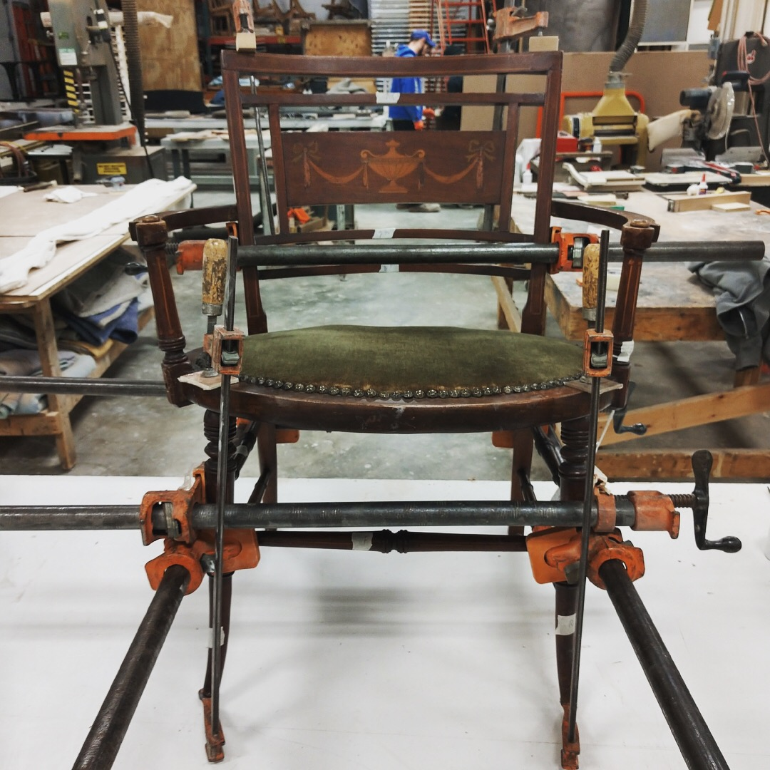 Chair & Tiny Chair Rebuild - Gomillion Furniture Services Inc